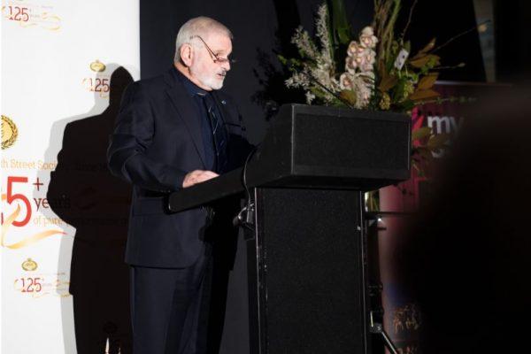 Chairman Peter Zala RSSS